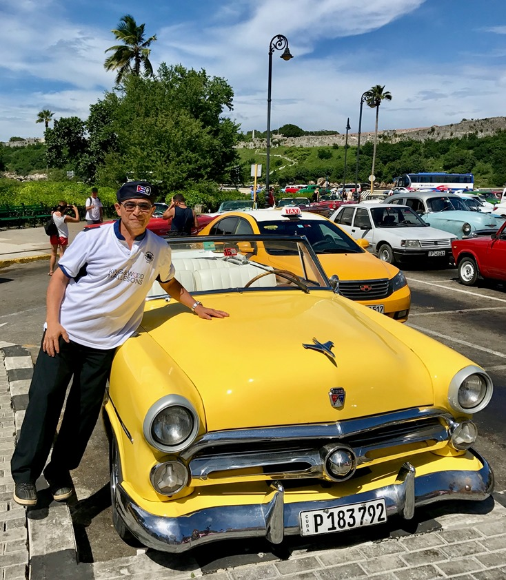 George Chan considering a change of career as a Second-hand Cars Salesman in Cuba
