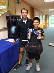 Junior grade 3 Winner, Jaden Li Head